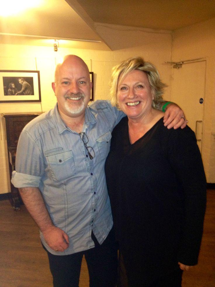 With Barbara Thorn. | Celebrities | Pinterest