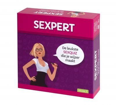 tease & please | SEXPERT  Het spel bevat meer dan 200 vraagkaarten (deels met illustraties), 1 spelbord, 6 pionnen en 6 bijbehorende antwoordfiches. Om de beurt trek je een vraagkaart. Dit kan een open vraag, een waar/niet waar vraag of een meerkeuze vraag zijn. Sommige vragen moet je alleen beantwoorden en bij andere vragen mogen alle spelers meedoen.'Sexpert' vergroot niet alleen de kennis en het inzicht van de spelers maar ook de vrijheid waarbinnen seksualiteit bespreekbaar kan zijn.