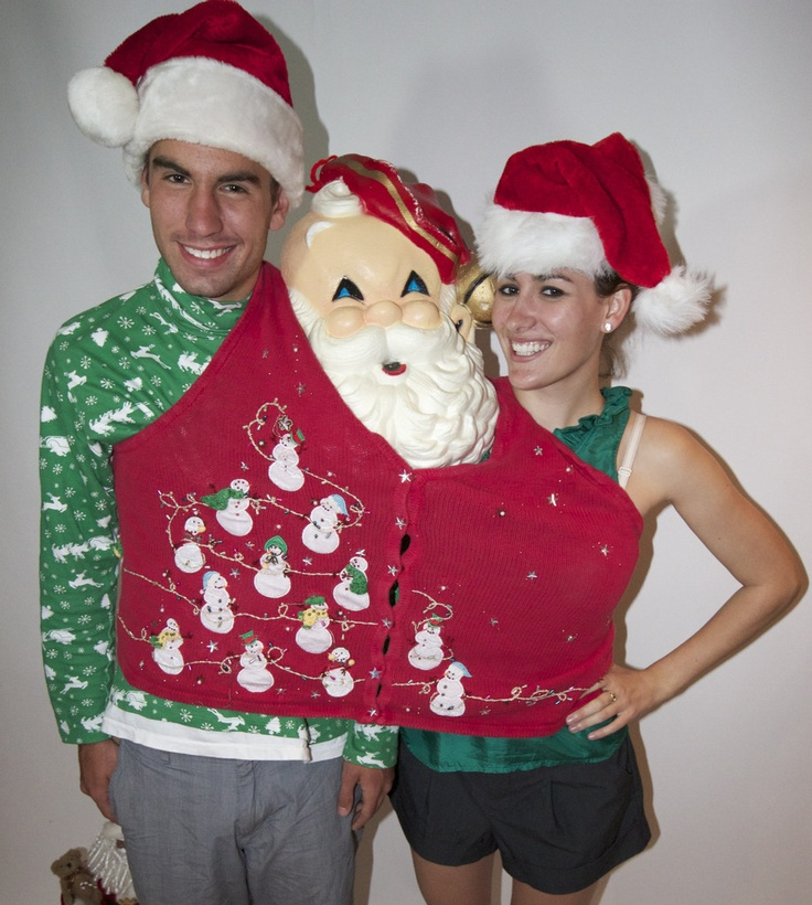 Ugly Christmas Party Sweaters: 1000+ Images About Matching Ugly Christmas Sweaters On