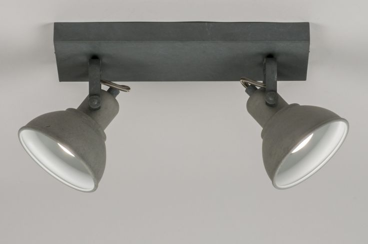 Plafondlamp 11071: landelijk rustiek, industrie, look, stoere lampen