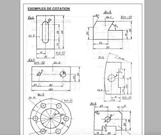 Cours Dessin Technique Detaille Pdf Plans Autocad Dwg
