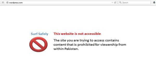 Bad News for Pakistan Bloggers:Wordpress Faces Temporary Ban in Pakistan.According to multiple local outlets, Wordpress blogs are currently not accessible in Pakistan and pointing the blockage at the Pakistan Telecommunication..