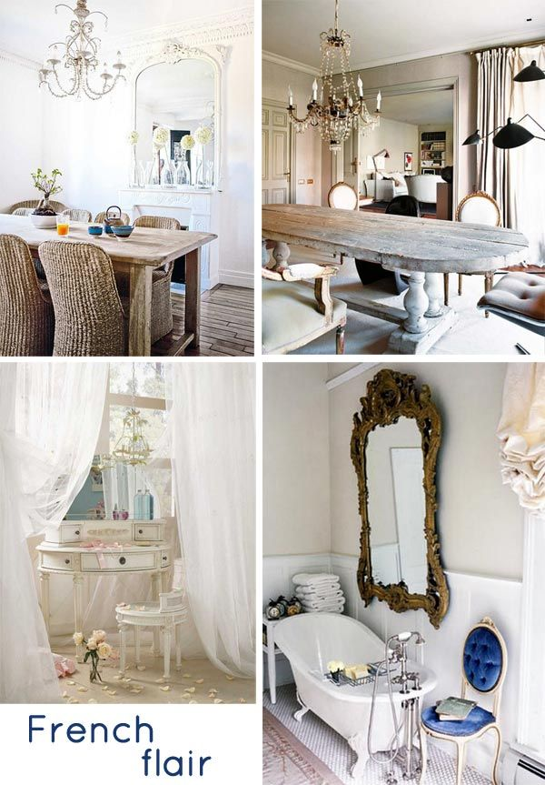 French: Beautiful, Random, French Home Ideas, French Flair, House, French Decorating, French Style