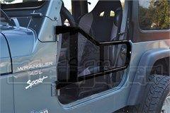 Tube Doors for Jeep Wrangler TJ & LJ 1997-2006 Black Steinjager