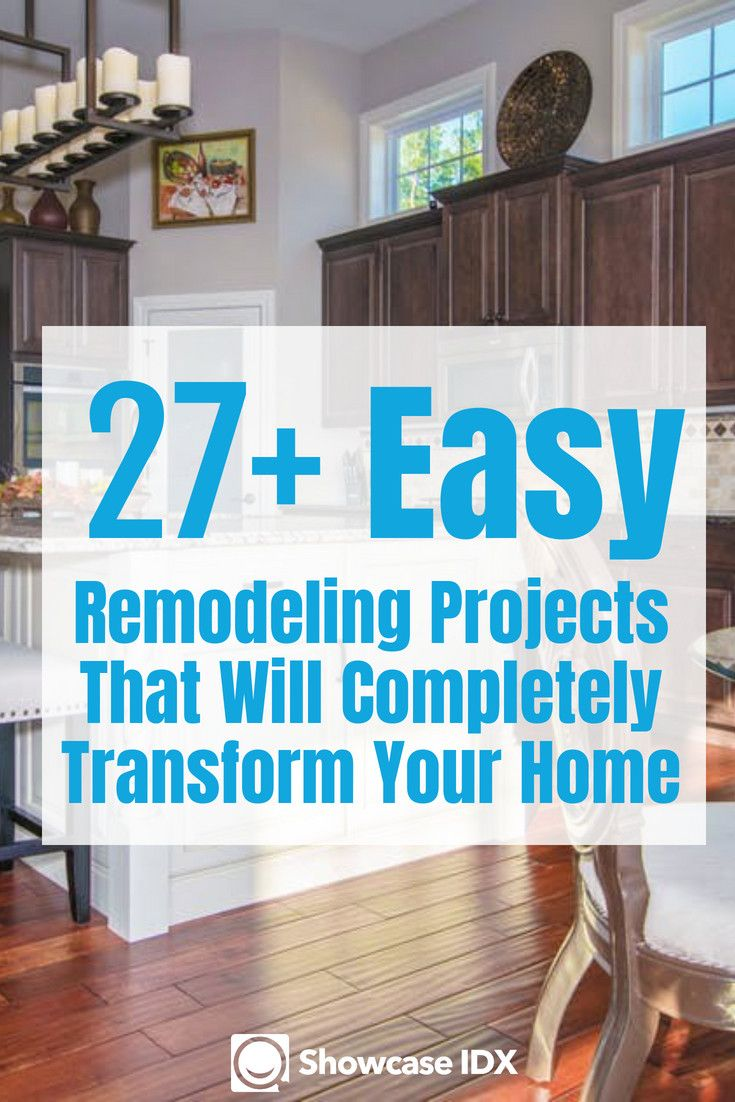 27 Easy Remodeling Ideas