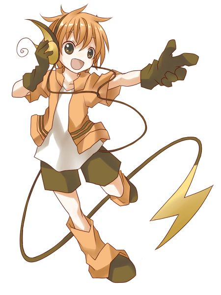 human version gijinka pokemon, raichu