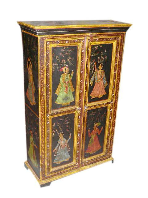 Painted Furniture From India | Painted Indian Furniture | India | Pinterest