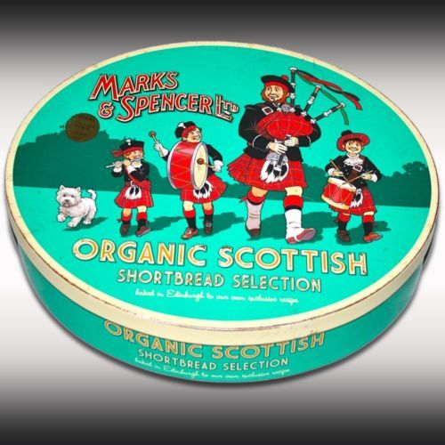 Marks and Spencer cookie tin