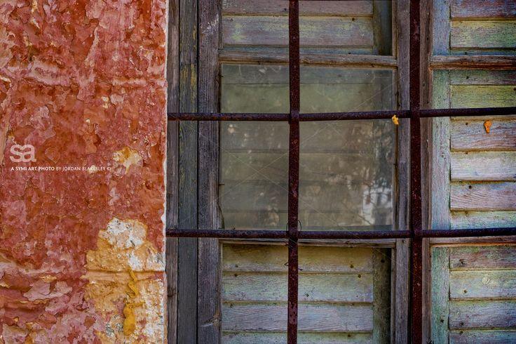 Weathered Windo. Photograph by Jordan Blakesley @symiart