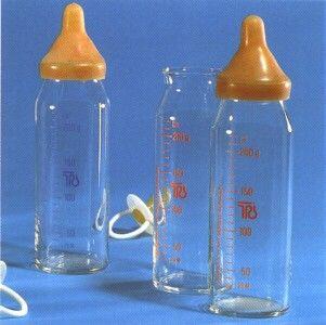 unsere Babymilch Flaschen ca. EVP 1,50 M