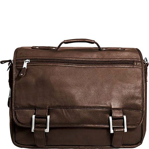 Canyon Outback Leather Copper Canyon Leather Expandable Briefcase - eBags.com
