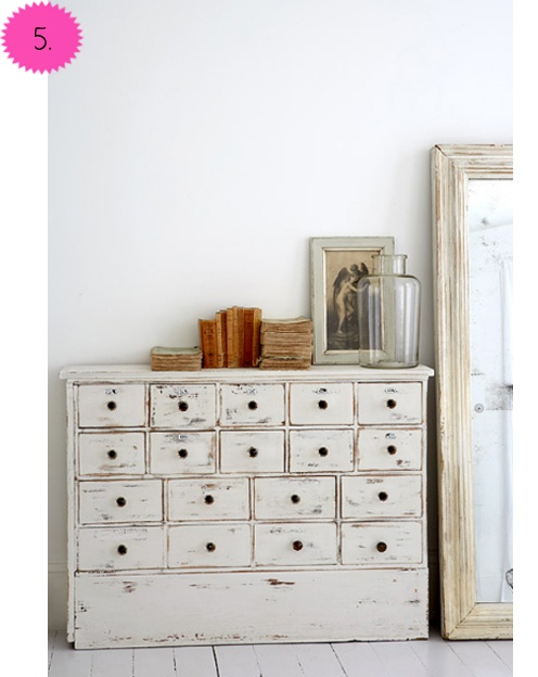 Second Hand: Cabinets, Decor, Idea, Shabby Chic, White, Dressers, Furniture, Chest Of Drawers, Apothecaries