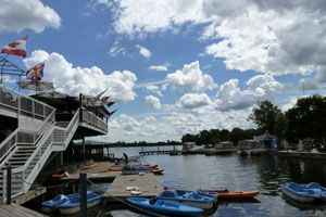 Rent a canoe, paddle boat, or kayak and boat in the Rideau Canal. Date idea?    1001 Queen Elizabeth Drive  Ottawa, ON K1S - 5K7