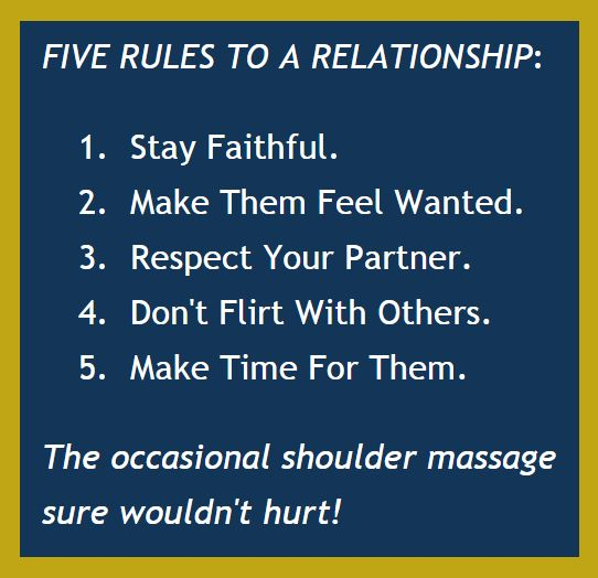 10 rules for a good relationship