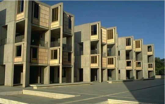 Здание института Салк - архитектор Луис Кан