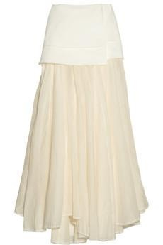 Acne Moon Cotton-Canvas Maxi Skirt  #Luxury #Fashion #Ladies