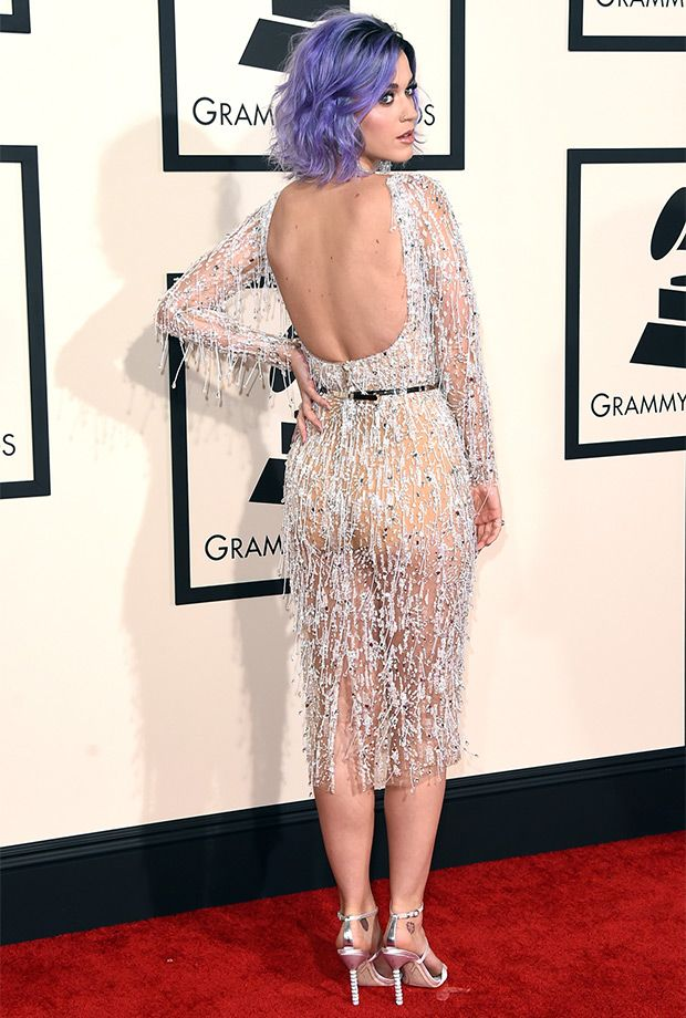 Katy Perry clearly has a strong body to back up that powerful voice, as she proved in her icy Zuhair Murad cocktail dress.