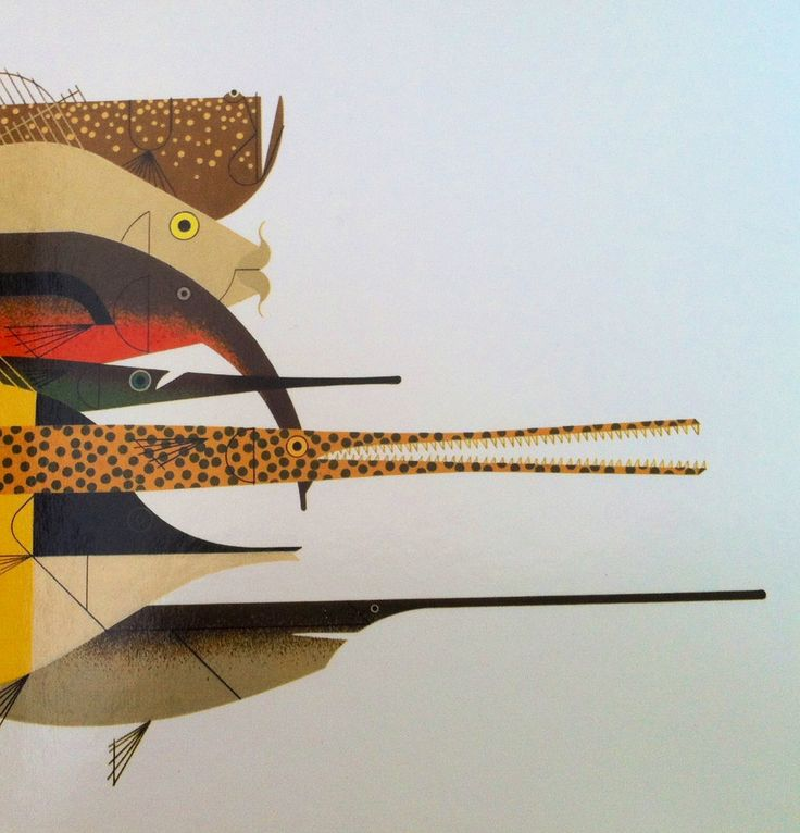 Best 25 charley harper ideas on pinterest bird for Charley s fishing