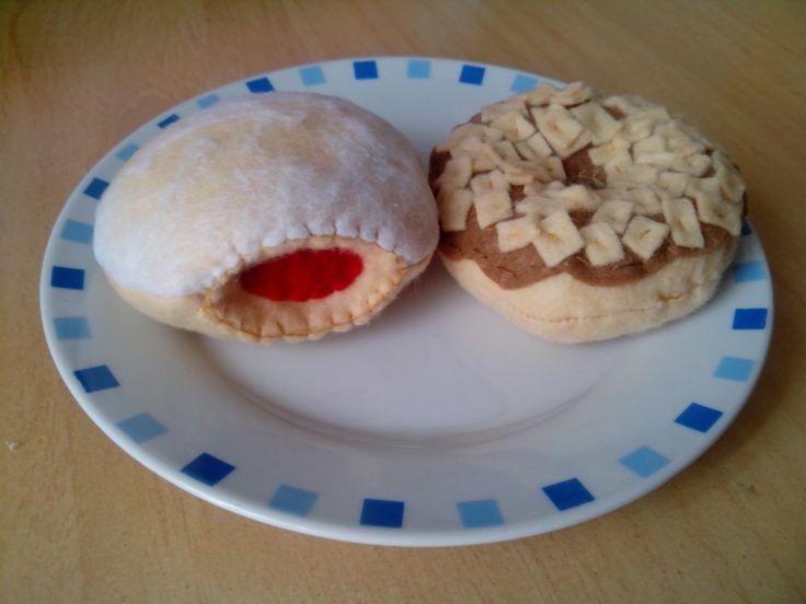 Donut crocant y donut relleno de fieltro