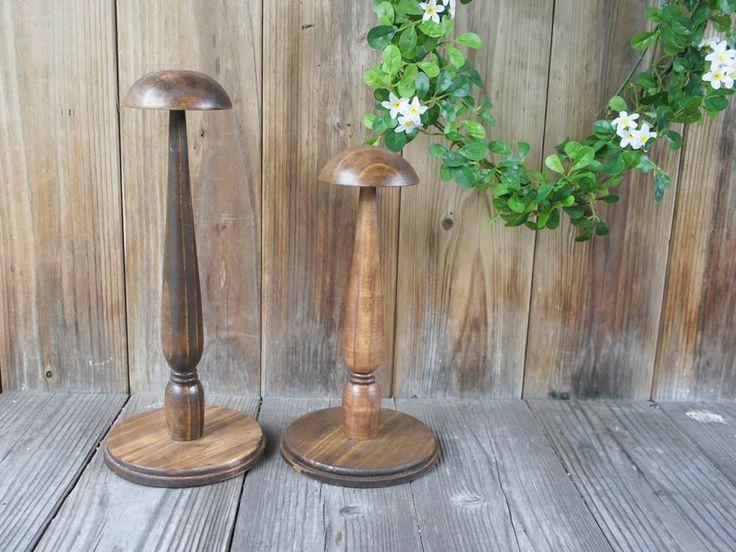 お得SL◇ウッドハットスタンド◇帽子スタンド木製
