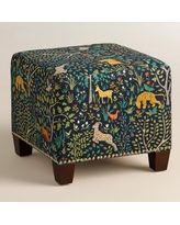 Folkland McKenzie Upholstered Ottoman - - - World Market