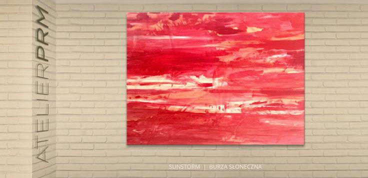 Sunstorm by PRM 150x100cm   190€