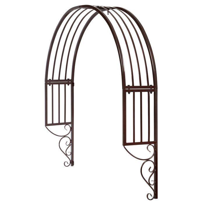 Thornbury Iron Arched Trellis Arch Trellis Window Trellises Door Trellis