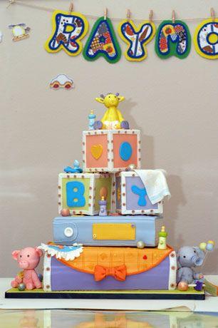 baby shower fondant cake | New Cake Ideas