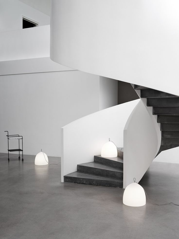 Suspence Nomad™ is GamFratesi challenging conventional thinking in the area of lamp use. Nomad is designed to be placed on a horisontal surface e.g. a floor, staircase or terrace. It carries an appeal to be moved from place to place, without a permanent residence, just like a nomad. The lamp is easily moved by lifting the silicone handle at the top. Suspence Nomad™ is made of polyethylene, which is a tough material, that gives off a soft, diffuse light – creating a cosy atmosphere.