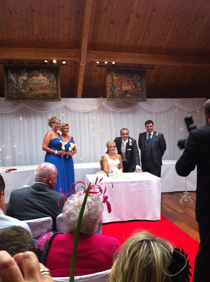 Backdrop Wedding At The Cruin Loch Lomond Scotland Uk