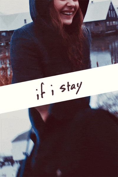 """If I Stay. What does Mia say in the trailer just before Adam says """"you can't hide in that ...""""    Something like ... My entire life. Does anyone know? Thx."""