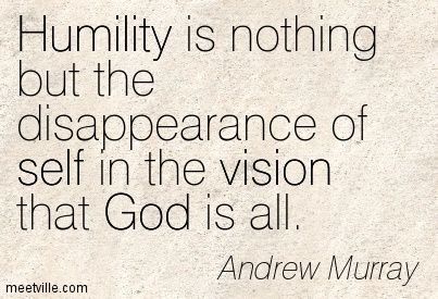 Andrew Murray Humility Quotes