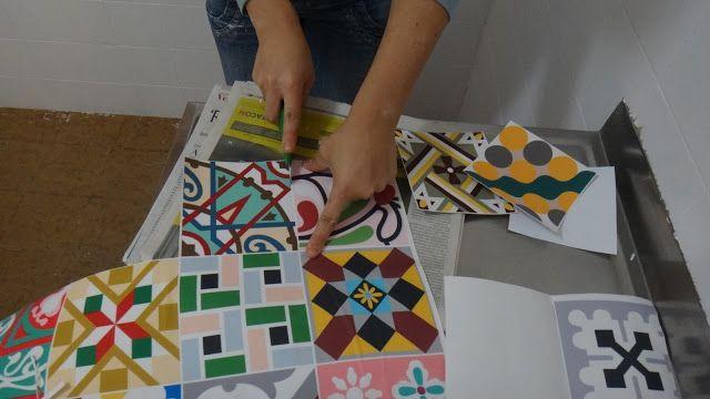 E se esta casa fosse minha!?: SOS Cozinha! Pintando azulejos...