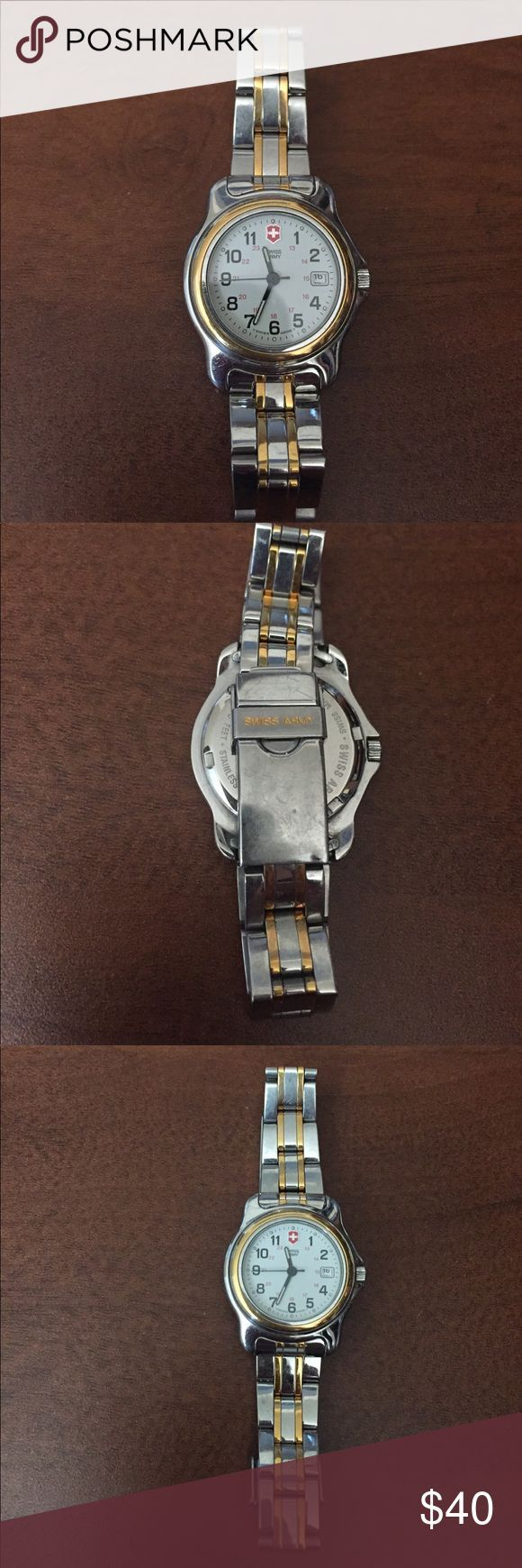Swiss Army Watch This is a Swiss Army Watch, needs a new batterie. Accessories Watches