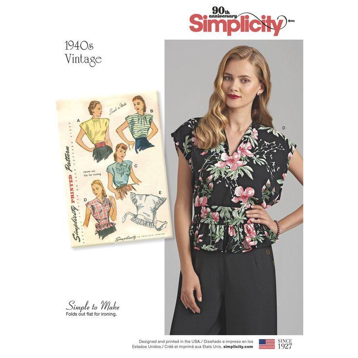 496 besten Repro Schnittmuster Bilder auf Pinterest   Kleidung ...