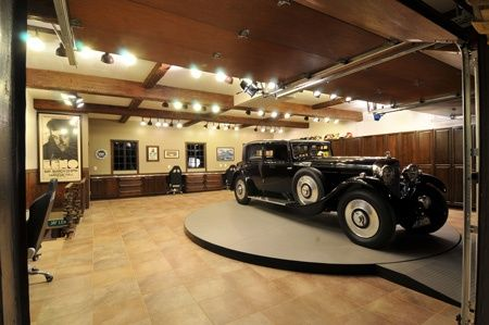 luxury garage interiors the interior of jay leno 39 s home