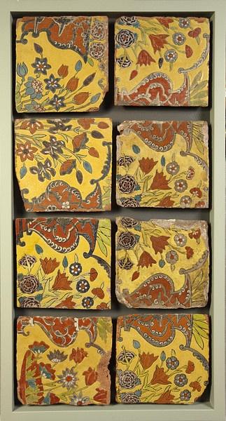 Munghal tile  Panjab, Afghanistan   ca. 1650