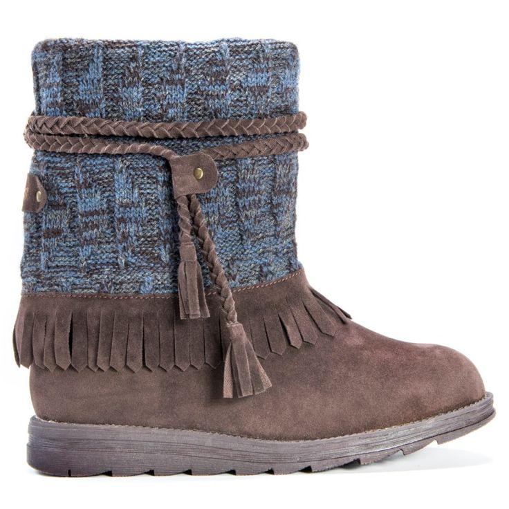 Muk Luks Women's Rihanna Boots (Dark Brown) - 10.0 M