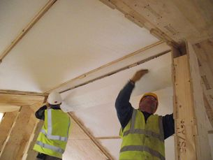 WikiHouseUK // 2015 // Midlands // First Wiki Farmhouse | The world's first Wikihouse home | Final polystyrene