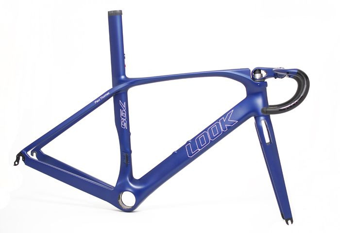 """Look"" '795 aerolight' bicycle frame - custom paint job by ""Velo colour"""