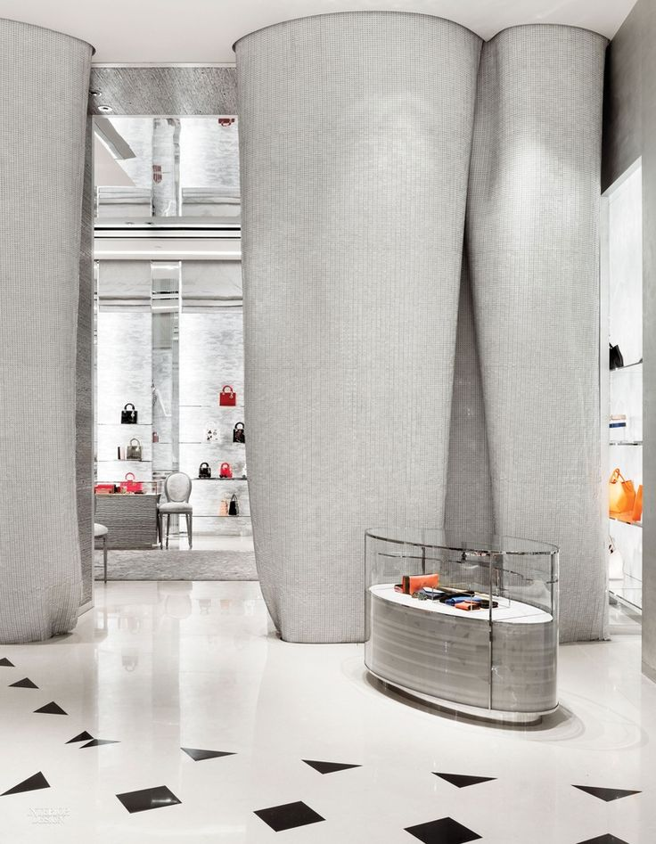 French Style Defines Dior's Beijing Outpost by Peter Marino