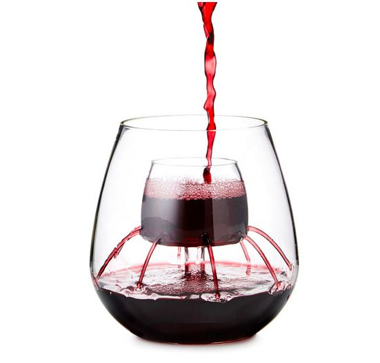 For when you want the aerator built right into the glass: | 25 Gifts For The Ultimate Wine Lover In Your Life