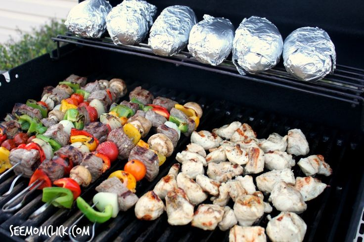Easy Chicken and Beef Shish Kabob Recipes