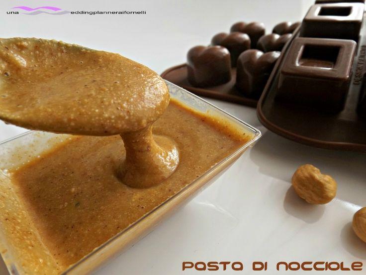 Pasta di nocciole con e senza Bimby  http://blog.giallozafferano.it/weddingplanneraifornelli/pasta-di-nocciole-con-e-senza-bimby/
