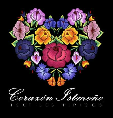 Corazón Istmeño / Textiles Típicos / Oaxaca - México / Logotipo ®