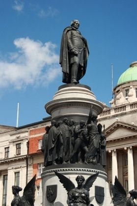 Statue of O'Connell, O'Connell Street, Dublin