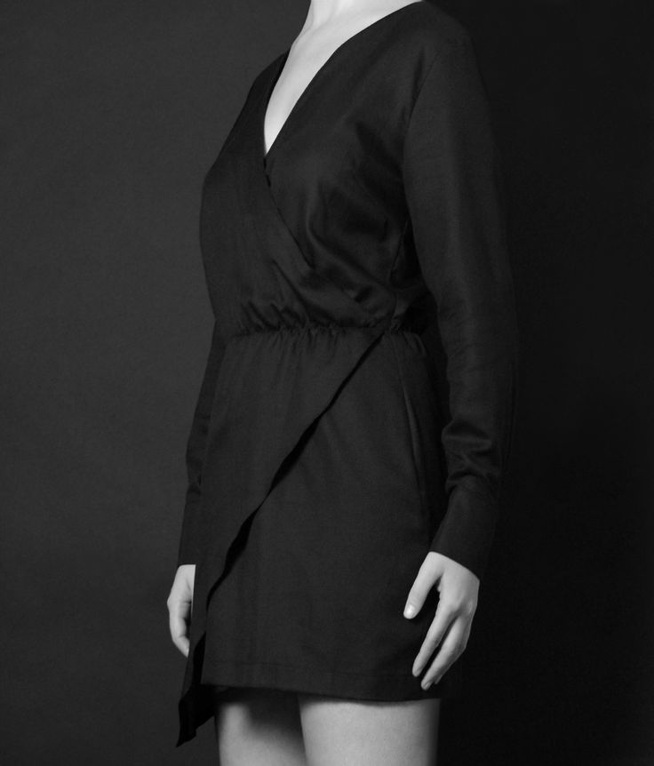 Black dress http://honeygold.eu/product/black-wrap-around-dress/