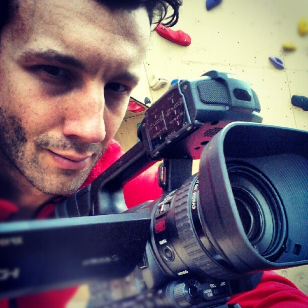 Shooting video for Bjoeks Climbing Center, Groningen