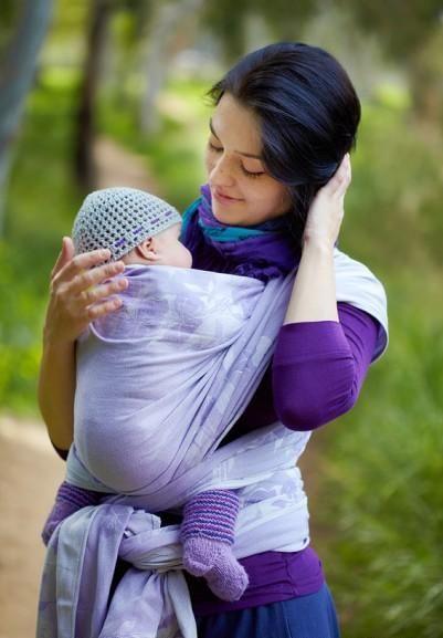 Šátek VATANAI Lilac