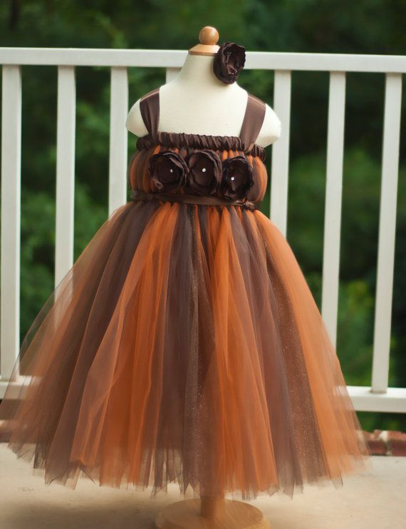 Hey, I found this really awesome Etsy listing at https://www.etsy.com/listing/107598861/autumn-brown-and-copper-tutu-dress-with